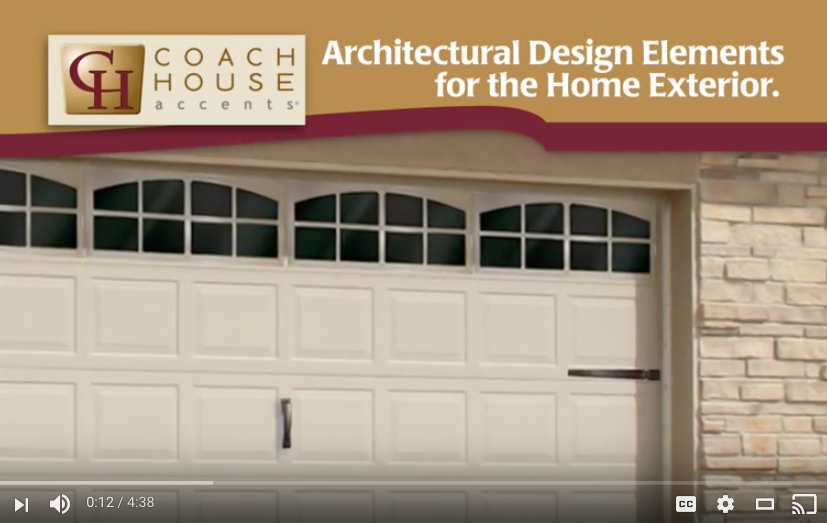 Traditional Series Garage Door Hinges and Handles
