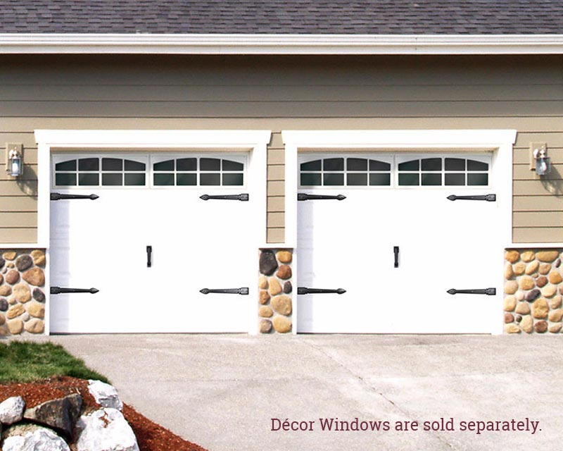 Garage door accent handles and hinges coach house accents for Garage appeal coupon code